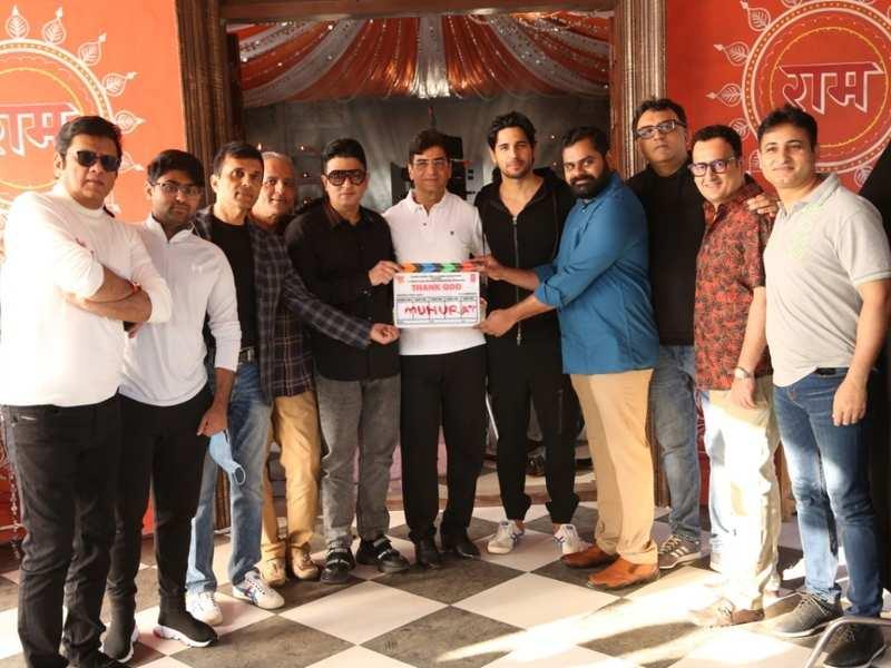 Thank God': Ajay Devgn, Sidharth Malhotra and Rakul Preet Singh's film goes on the floor in Mumbai - BoogleBollywood